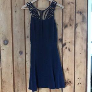 Parker XS navy blue dress